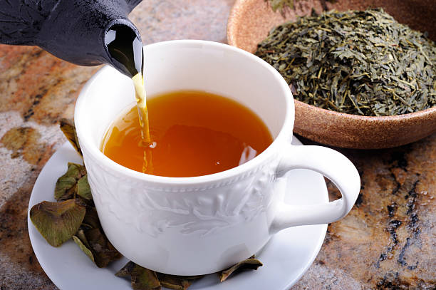 té verde para el dolor de garganta