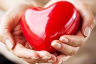 Alimentos sanos del corazón en dieta