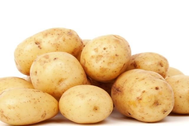 No vaya para blanco Patatas