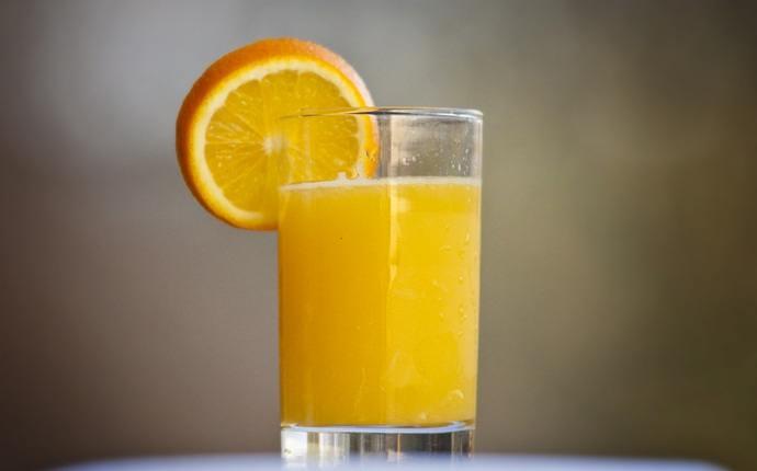 Máscara de jengibre, jugo de naranja y leche