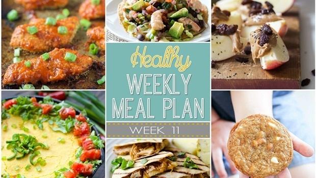 Plan de comidas saludables