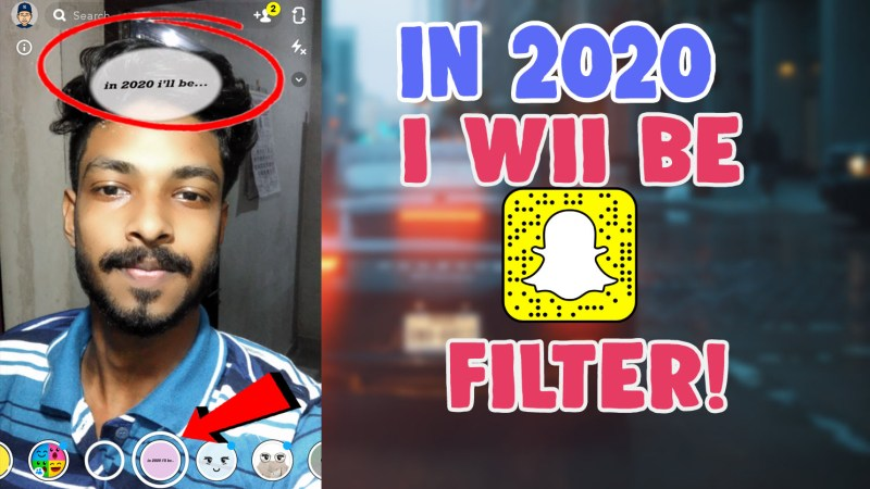 in 2020 i will be snapchat filter