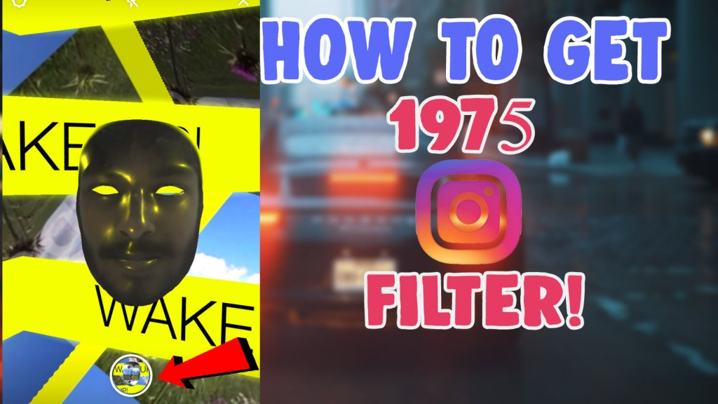 the 1975 instagram filter and tiktok