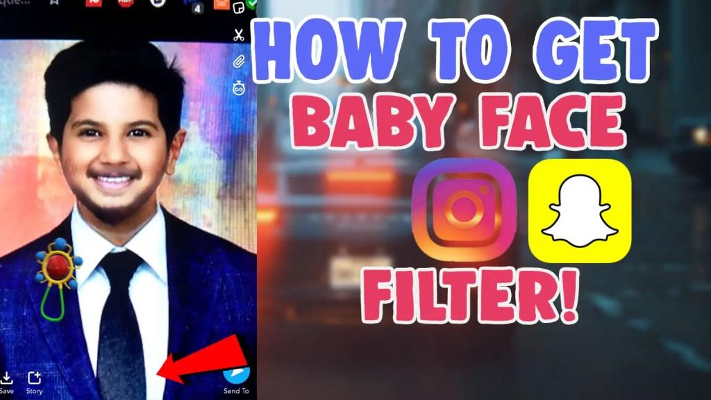 baby face filter instagram