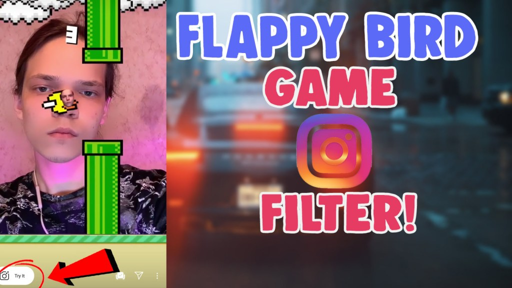 flappy bird filter instagram tiktok