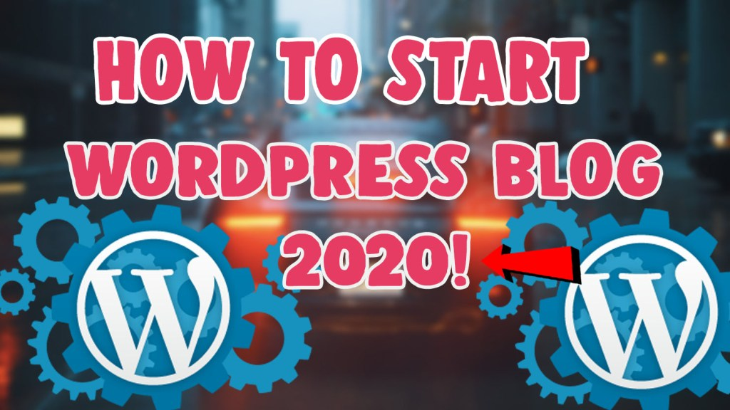start wordpress blog bluehost