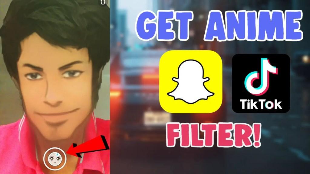anime face style filter snapchat tiktok instagram