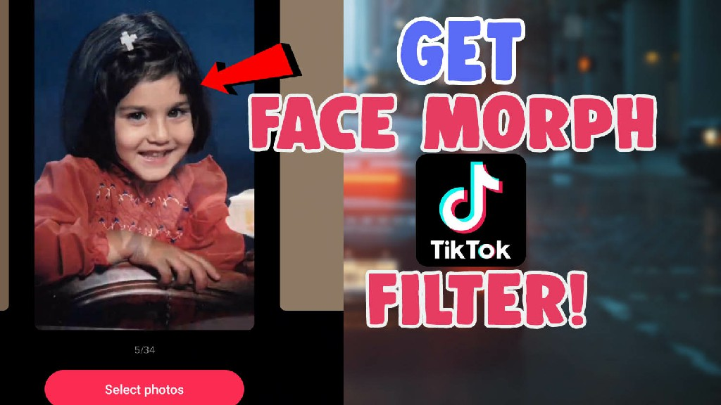 How To Get Face Morph Filter Effect On Tiktok and Morph Icon Tiktok