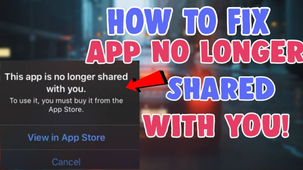 fix youtube facebook this app is no longer shared with you
