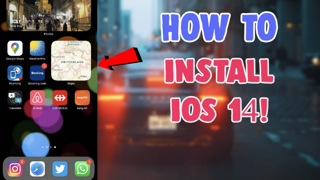 how to get and download ios 14 beta