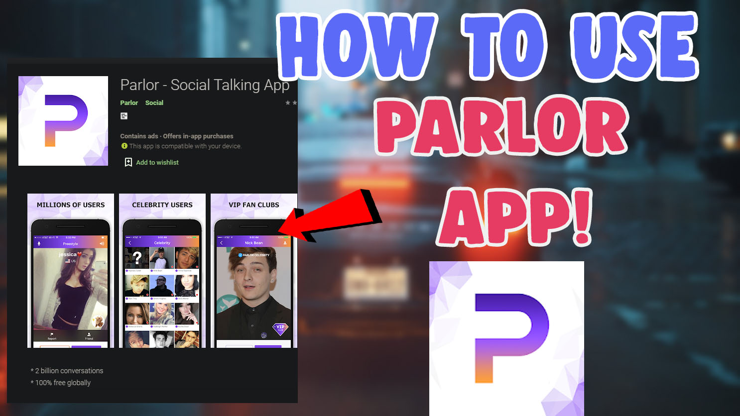 download parlor app ios android review