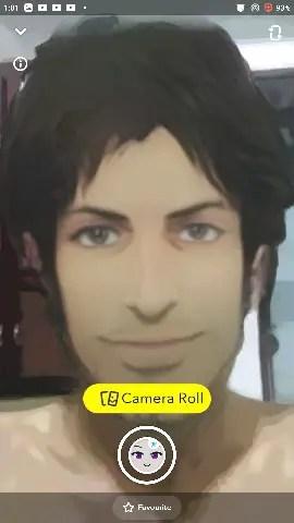 get anime filter snapchat link