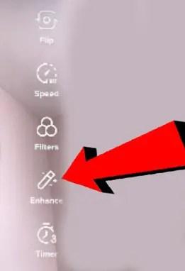 tiktok enhancement filter