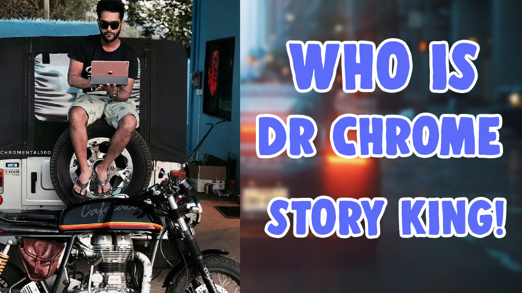 who is dr chromeental 500 real name place