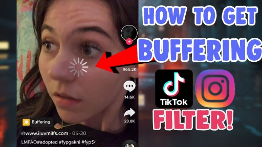 get buffering effect tiktok filter instagram