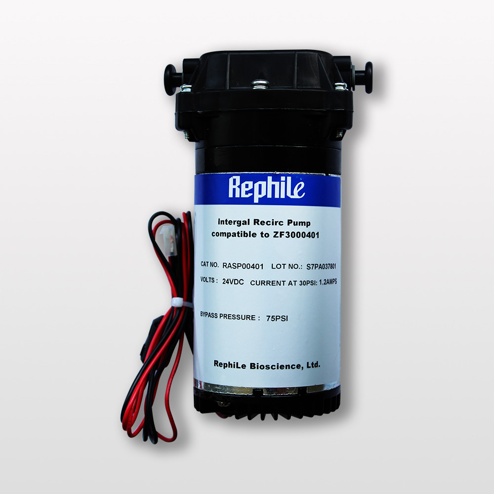 RO Booster Pump, replacing Millipore ZF3000401