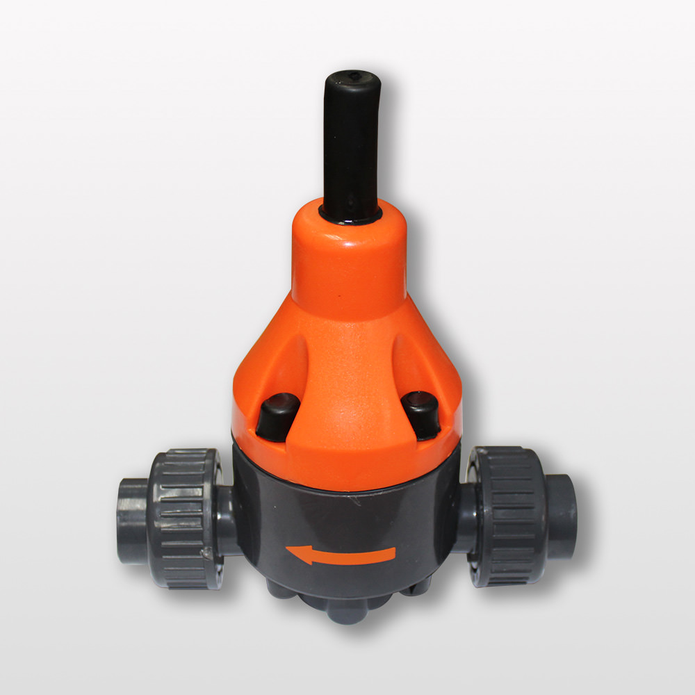 Back pressure regulator RAPR000R8