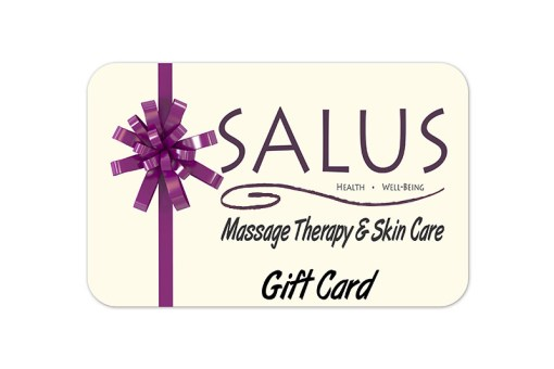 Massage therapy gift cards. Massage gift cards