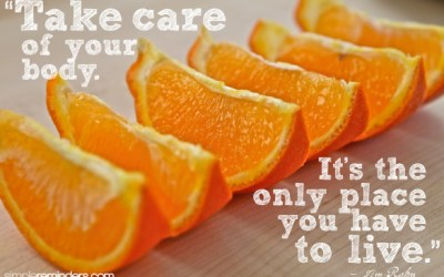 Thursday Thoughts – Take Care of Your Body