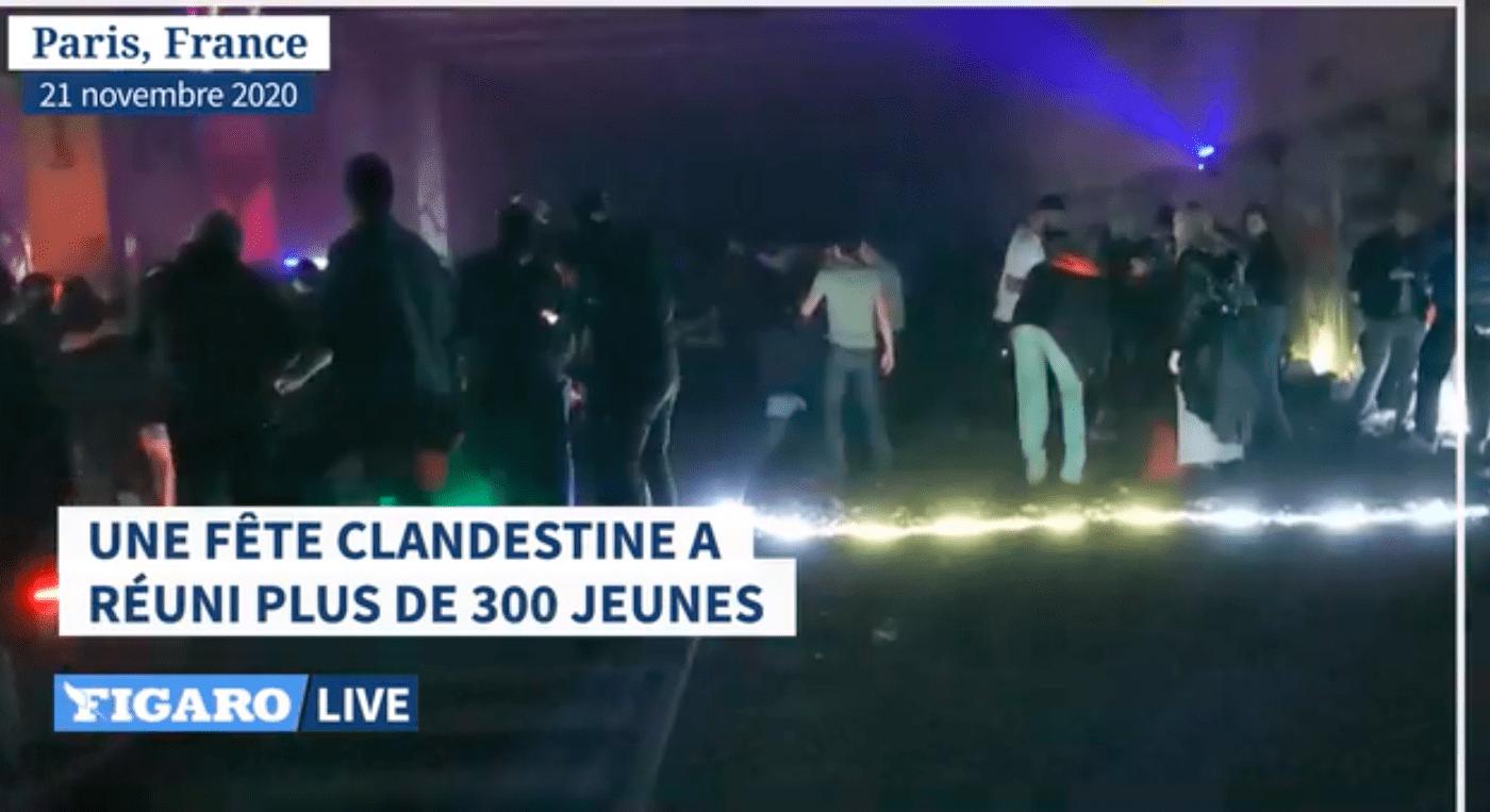 Валь-де-Марн: штрафы после повторной подпольной вечеринки.