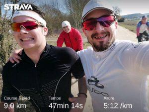 15 km en 2 parties avec Gabriel