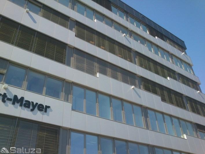 zaluzje fasadowe c80 ral 9006 biurowiec gpp fasada - saluza.eu