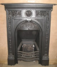 Cast Iron Bedroom Style Fireplace BFP03