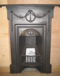 Cast Iron Bedroom Style Fireplace BFP06