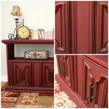 Painting Town Red Annie Sloan Chalk Paint. Spray