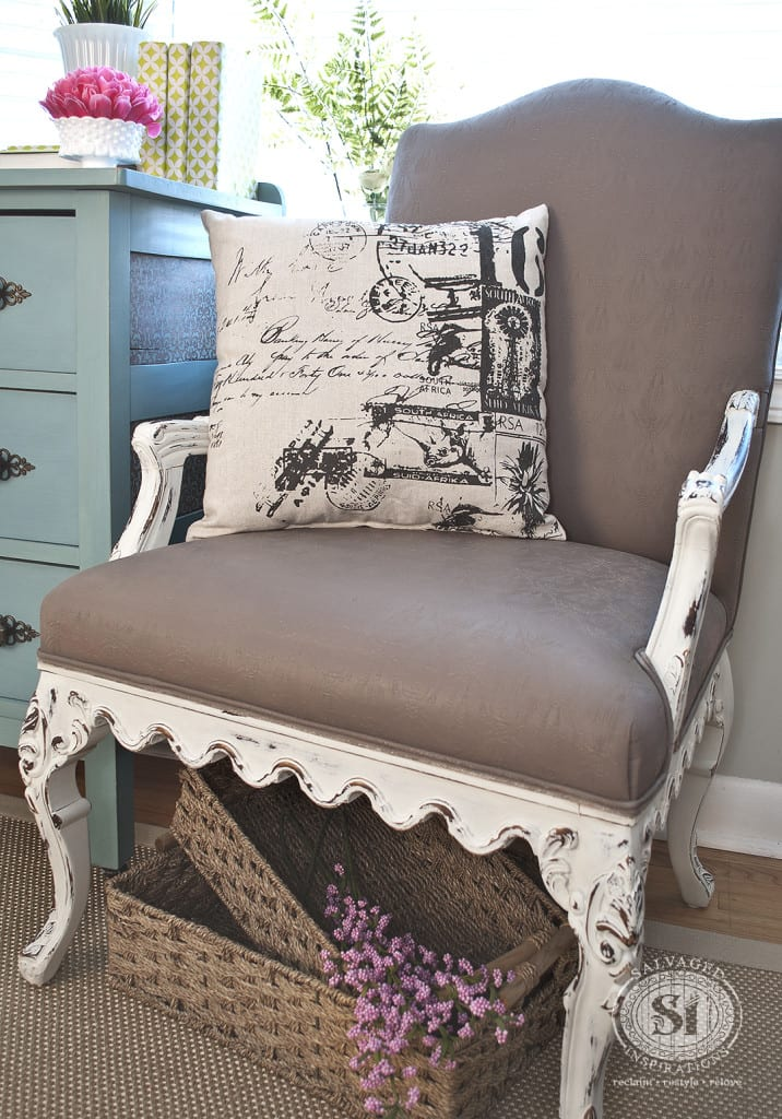 Paint Fabric Chairs Techniques