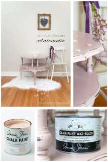 Antoinette & Black Wax Makeover - Salvaged Inspirations