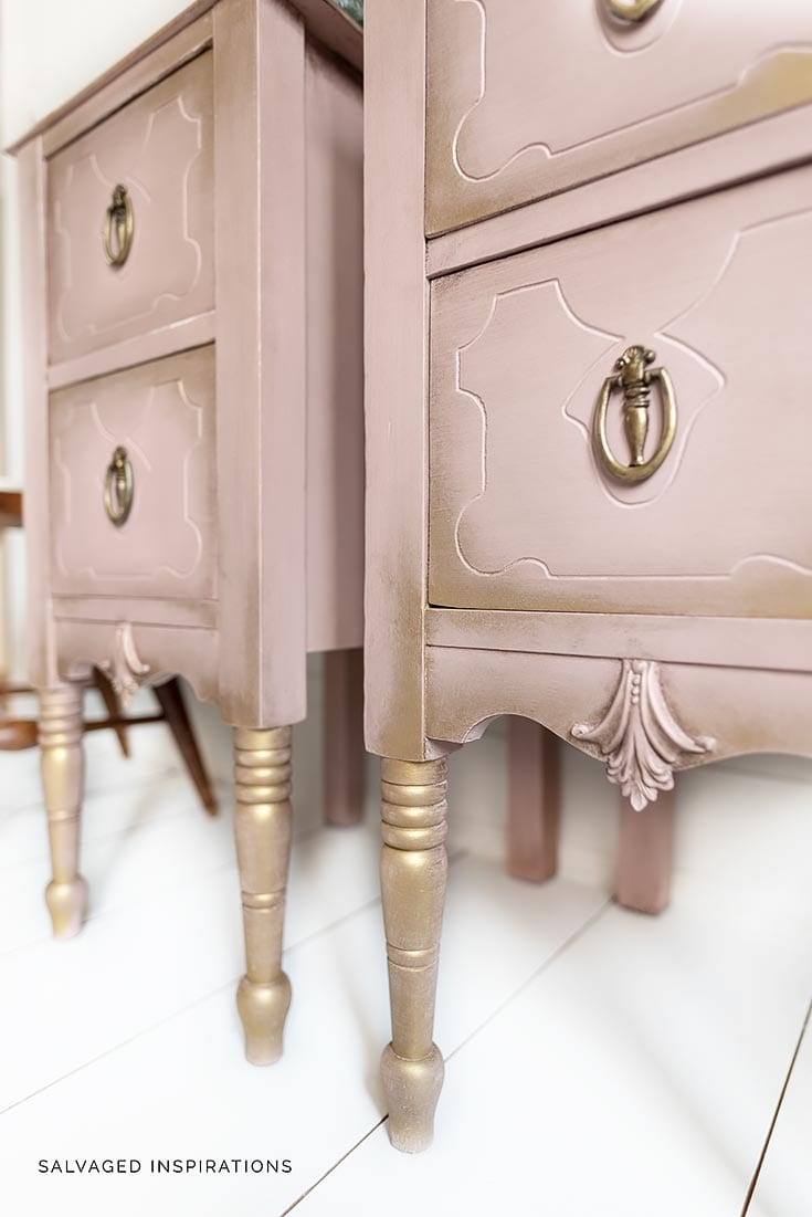 Painted Nightstands Salvaged Inspirations