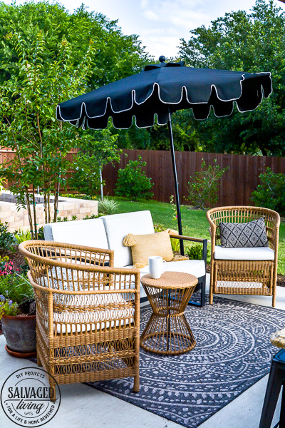 new patio furniture salvaged living