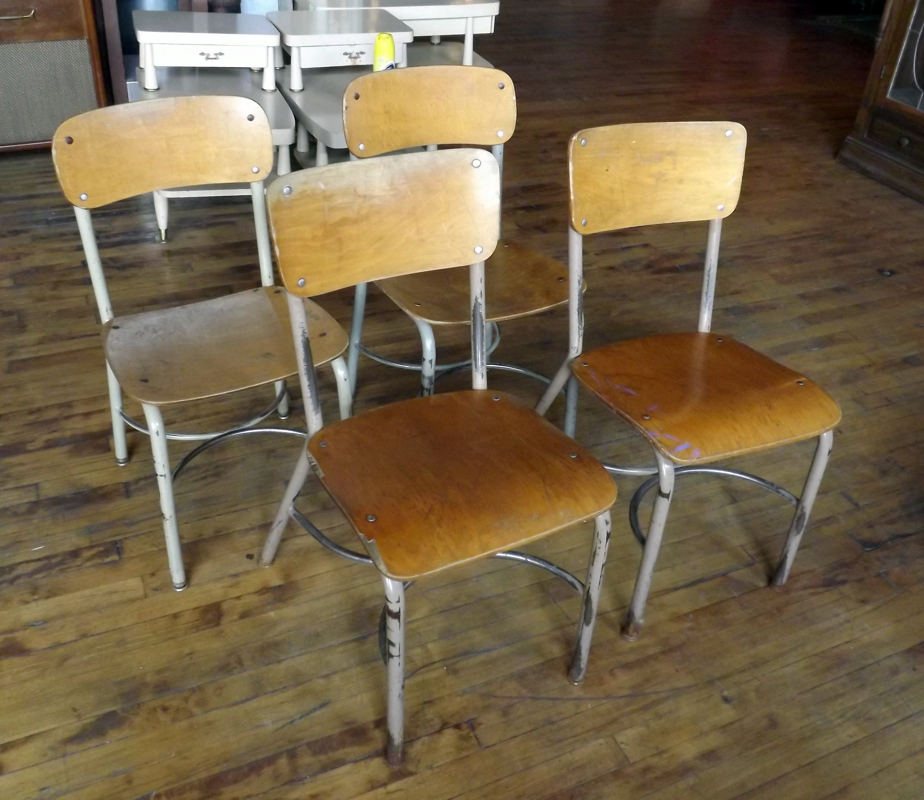 Vintage School Chairs Vintage School Chair Salvage One