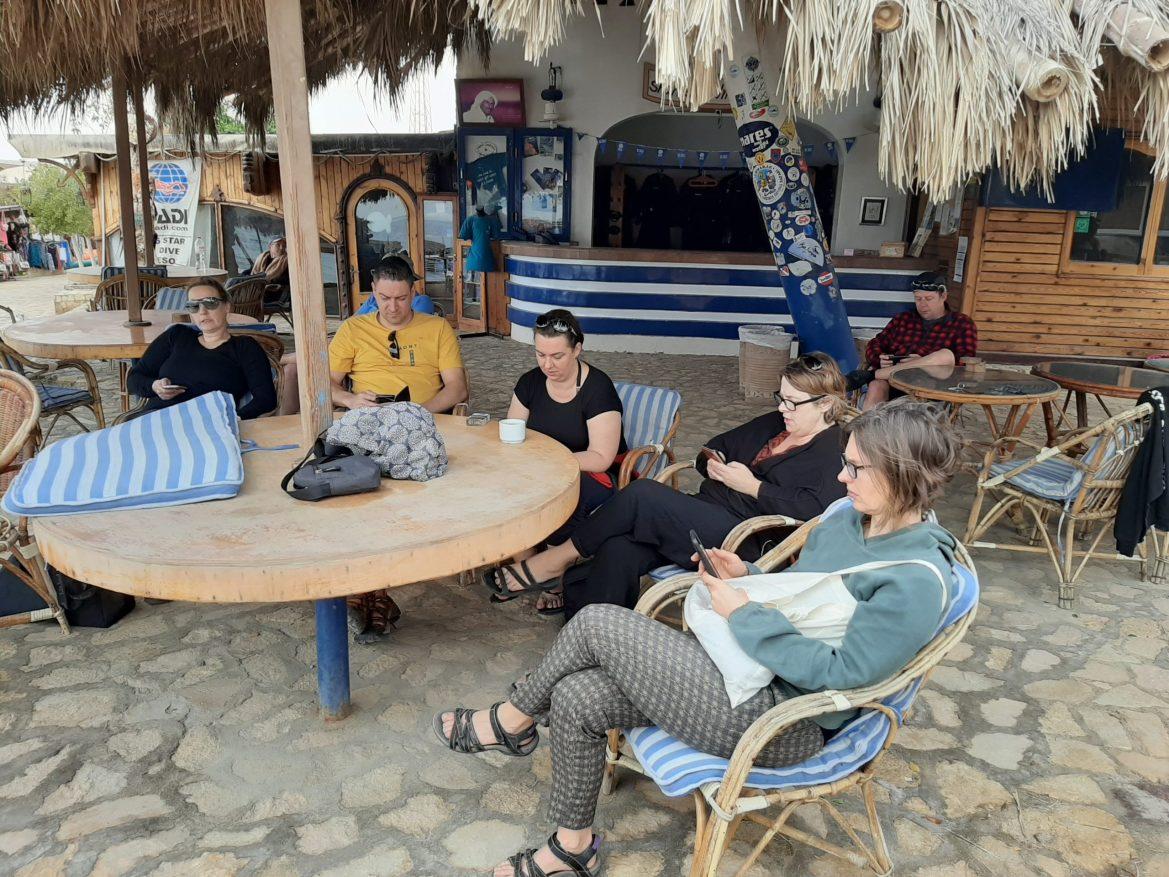 Diveshop - beste plaats voor wifi