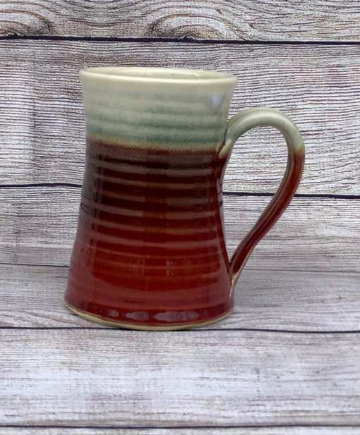 salvaterra pottery red mug