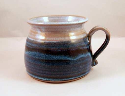 soup mug pottery