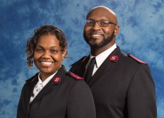 Salvation Army Officers Lt. Bryan and Tonya Farrington