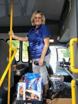 delivering meals in lakeland
