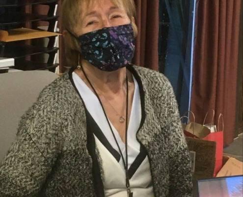 covid mask face covering seamstress