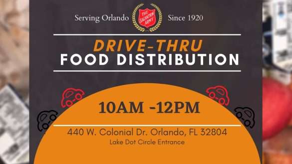 food, covid relief, help, assistance, orlando, salvation army