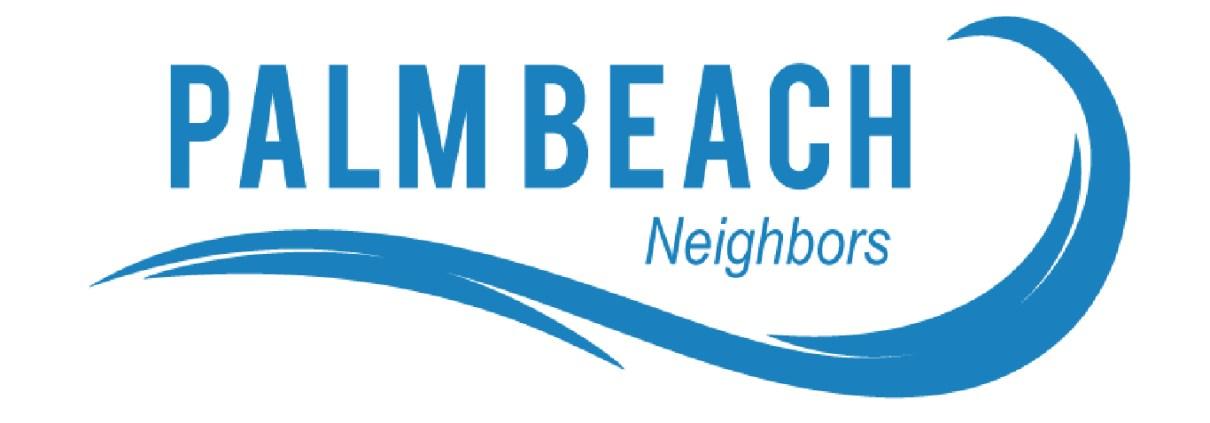 Palm Beach Neighbors Magazine Logo