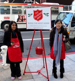 Salvation Army Lynchburg Bell Ringers