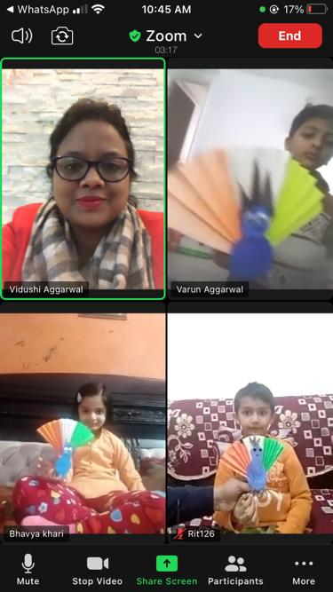 Republic Day celebration by students
