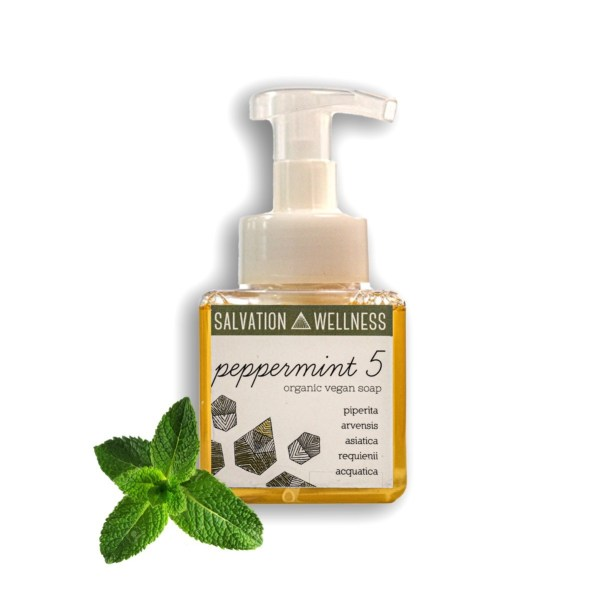 Peppermint 5 Liquid Soap