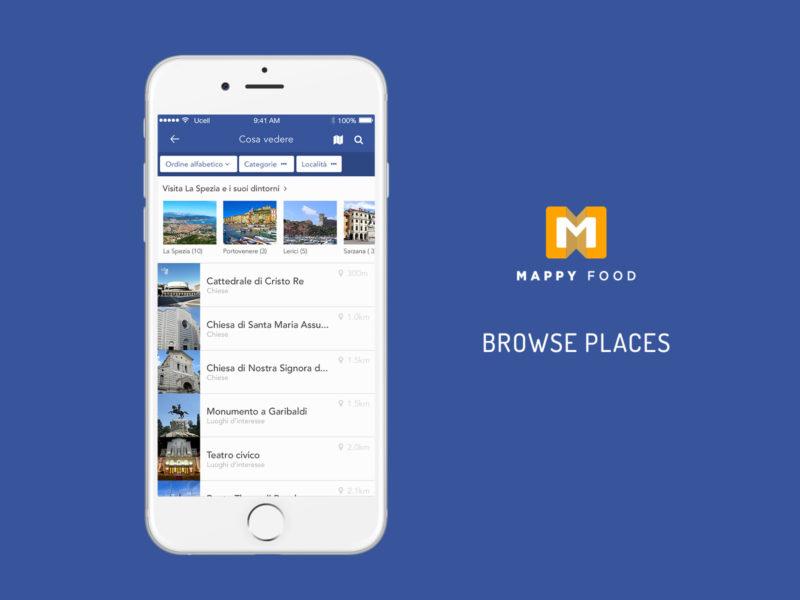 Sviluppo App Ibrida guida turistica La Spezia