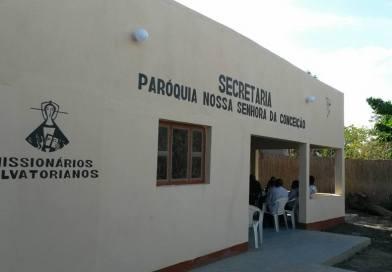 Paróquia Nossa Senhora da Conceição em Chòkwé inaugura nova secretaria