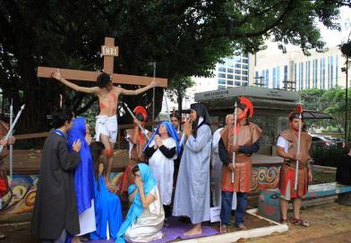 Sexta-feira Santa nas Paróquias Salvatorianas pelo Brasil