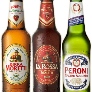 Salvatori's Italian beer selection