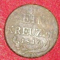 Ein Kreuzer - 1816